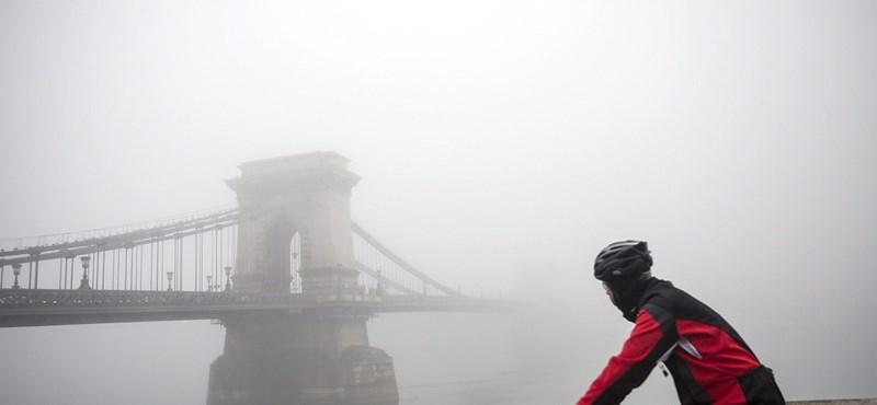 Sűrű köd miatt adott ki figyelmeztetést az OMSZ