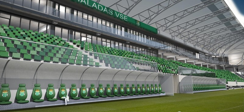 Átjavította az MKKP a szombathelyi stadion nevét