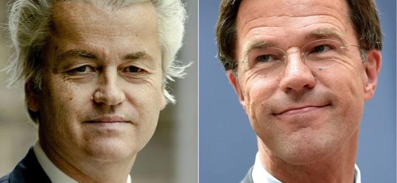 Hollandia: Fej-fej mellett Wilders és a miniszterelnök