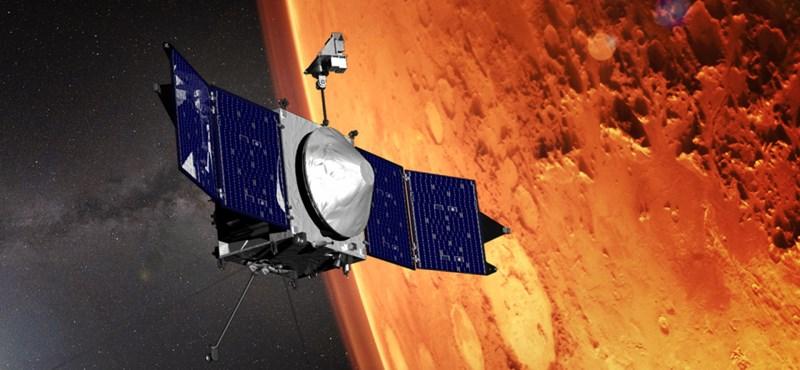 Fontos lépésre készül a NASA az űrszondával, ami 5 éve kering a Mars körül