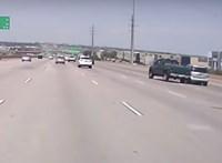 Torlódás baleset miatt az M7-esen Székesfehérvár felé