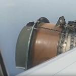 A levegőben esett szét egy Hawaiira tartó repülőgép hajtóműve