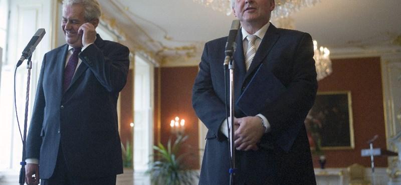 Válság Csehországban: lemond a szakértői kormány feje