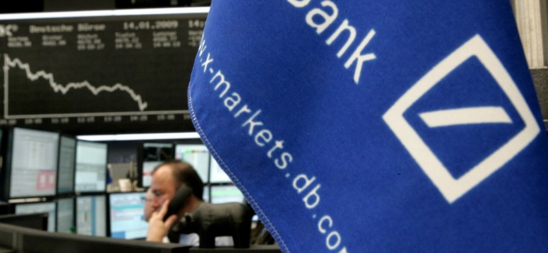 A hétmilliárd dolláros büntetésnek is örülhet a Deutsche Bank