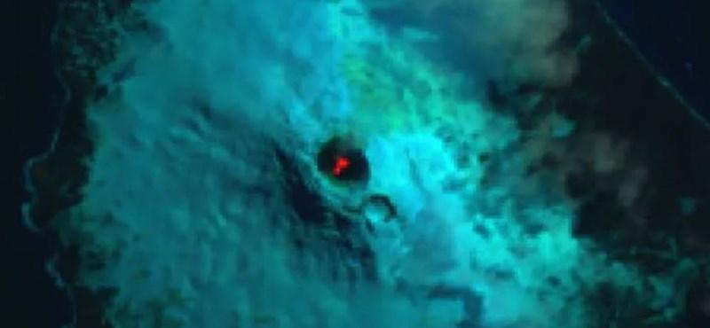Ez történt: különleges tavat talált egy vulkán mélyén egy műhold