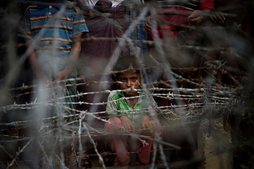 afp.18.04.25. menekültek Mianmár határánál