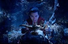 A mozikban az Aladdin tarolt