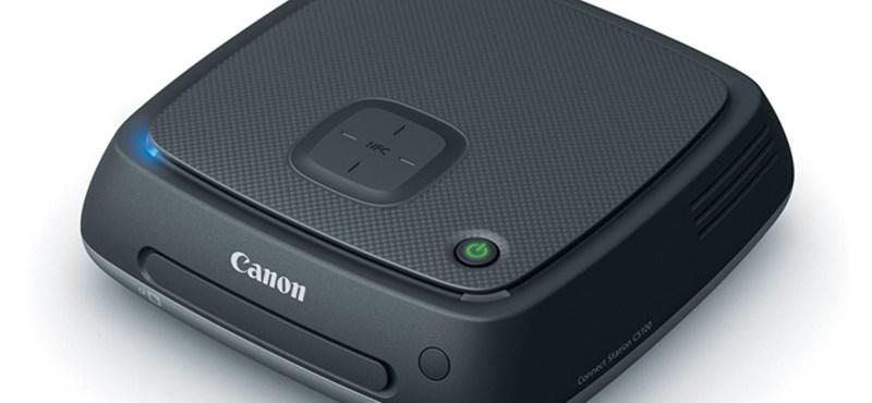 1 TB-os fotótárolót ad ki a Canon
