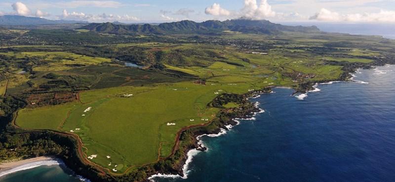 Süllyed az ingatlanos paradicsom Hawaii-on