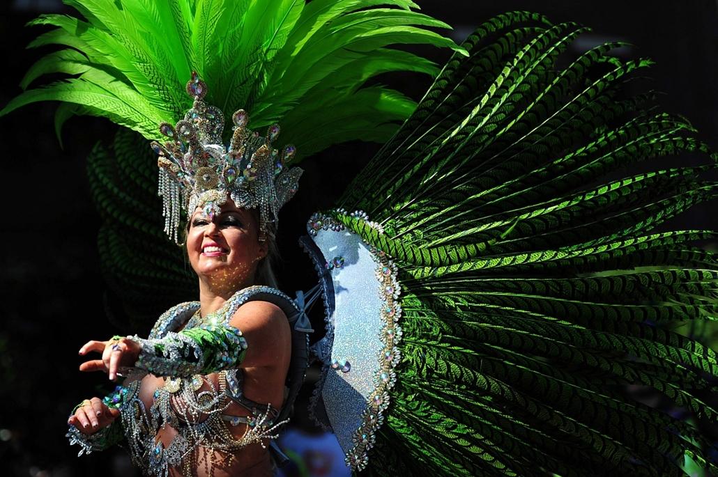Notting Hill-i karnevál, London, 2013. augusztus 25-26.