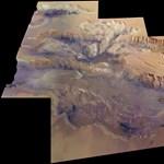 Fotó a Naprendszer legnagyobb kanyonjáról