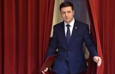 Nagyon megerősödött a komikusból lett ukrán elnök
