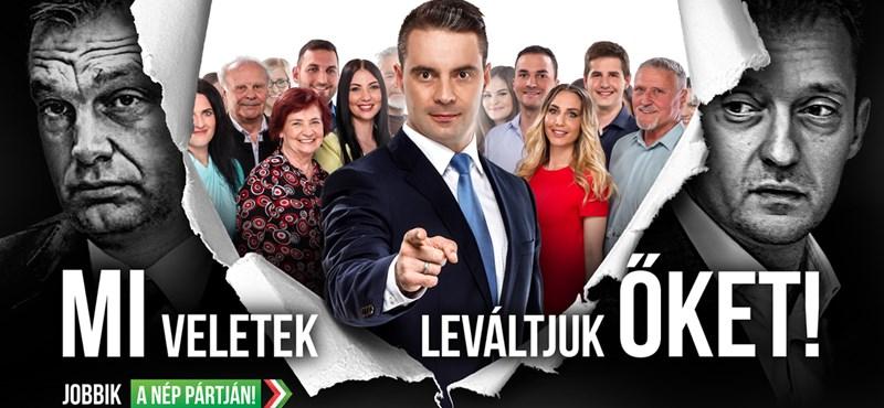 Fotó: új óriásplakáttal rukkolt ki a Jobbik, előlép a Nép