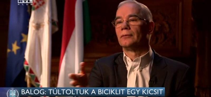 """Balog Zoltán: """"Túltoltuk a biciklit"""""""