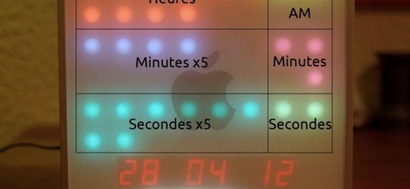 Kiszuperált Mac Miniből divatos óra! [videó]