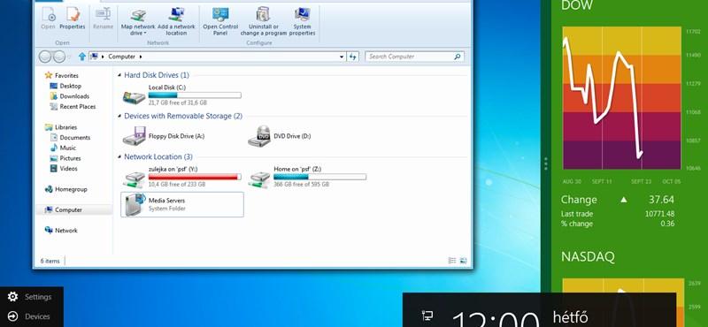 Windows 8 tippek: fontos billentyűkombinációk és egérfunkciók