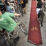 Örömtekerés lesz egy új budapesti bicikliút miatt
