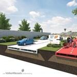 Újrahasznosított műanyagból építene utat egy holland cég