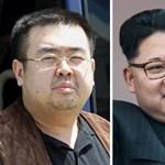 Megerősítették: Kim Dzsong Un féltestvérét ölték meg