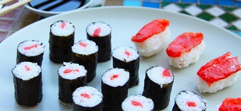 Tökéletes sushi alapfokon - recept