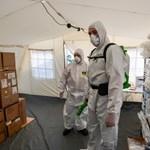 Olaszország: 651 vírusos beteg halt meg egy nap alatt