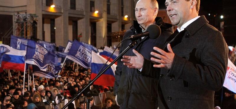 Orosz lapok: Putyinék számára megkezdődött a visszaszámlálás