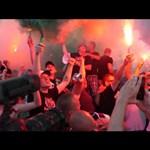 Videó: Így robbant fel Budapest az izlandi meccs után