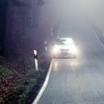 Traffipax, reflektorozást figyelő polgárőr és villogásért bírságolás a 6-os úton - fotók