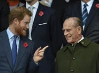 Harry herceg Meghan Markle nélkül tért vissza Londonba a nagyapja temetésére