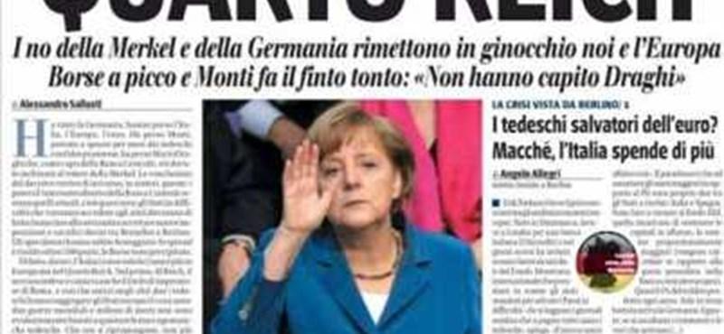 Címlapon alázták meg Angela Merkelt - fotó