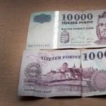 Szilveszterkor lehet utoljára régi tízezressel fizetni