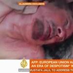 Videó: Kadhafi holttestét rugdossák Szirt utcáin