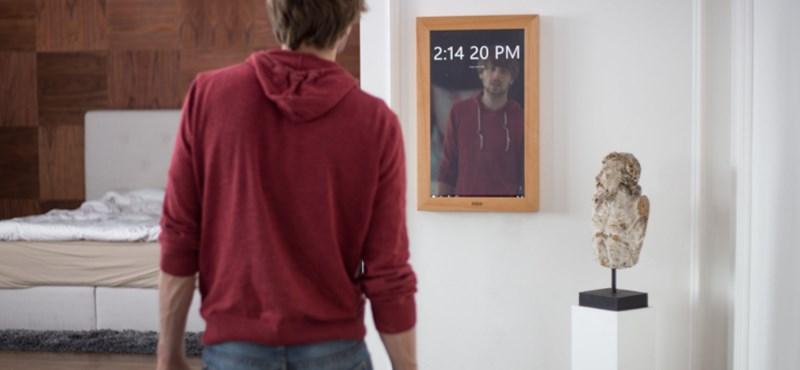 Ezen a Windows 10-es tükrön akkor is dolgozhat, játszhat, ha közben magát nézi benne