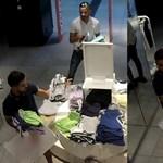 Simán elloptak 40 rövidnadrágot egy üzletből