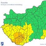 Hófúvás: több helyen már másodfokú riasztás van