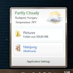 Időjárás jelentés, mappák, linkek és programok villámgyors elérése Windowson