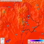 Rekordmeleg volt ma Budapesten