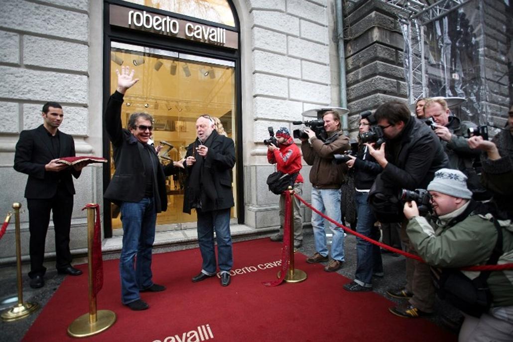 andy vajna roberto cavalli budapest fashion street 2008/11/24