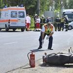 Meghalt egy motoros Nyírturán