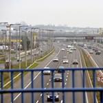Egy sávot lezártak az M5-ösön baleset miatt