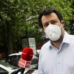 Tüntetni hívja a híveit Matteo Salvini