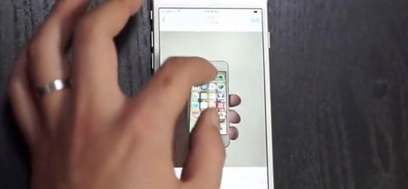 7 perces videón a kiszivárgott iPhone 6