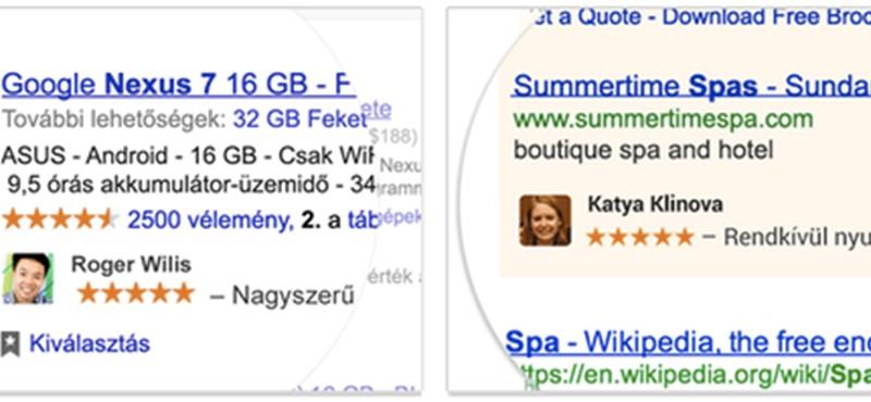 Itt kérheti, hogy a Google ne használja fel hirdetésekben a nevét és arcát