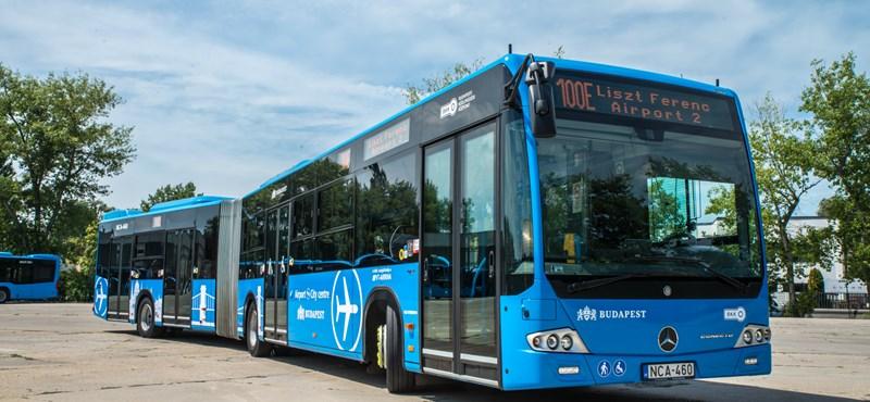 Megint változik a reptéri buszok menetrendje