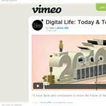 A digitális élet számokban – videó