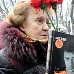 Ezrek tüntettek Moszkvában Borisz Nyemcov meggyilkolásának hatodik évfordulóján