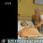 Bocsánatot kértek a beteg mellett szexet imitáló ápolók