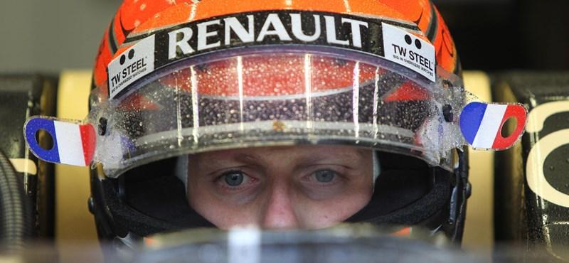 Fellélegezhet az F1, eltiltották Grosjeant