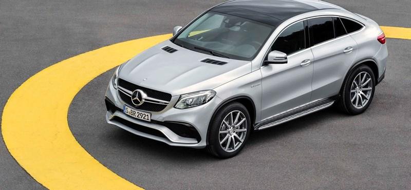 600 lóerő talán elég lesz a Mercedestől a BMW X6M ellen