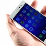 Huawei Ascend P7 teszt: pengeélen a kínai csúcstelefon